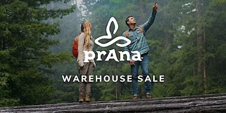 prAna Warehouse Sale - Santa Ana, CA tickets