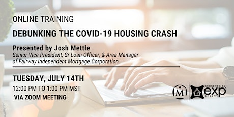 Debunking the Covid-19 Housing Crash tickets
