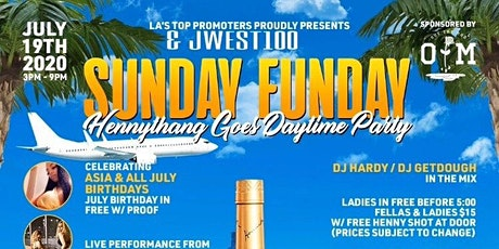 Sunday Funday Hennythang Goes Day Party tickets