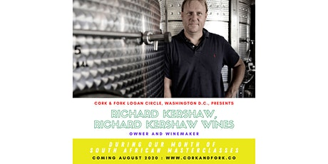 Kershaw Wines: Richard Kershaw, Owner/Winemaker tickets