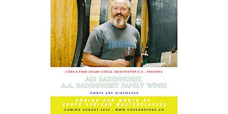 A.A. Badenhorst Wines: Adi Badenhorst, Owner/Winemaker Tickets