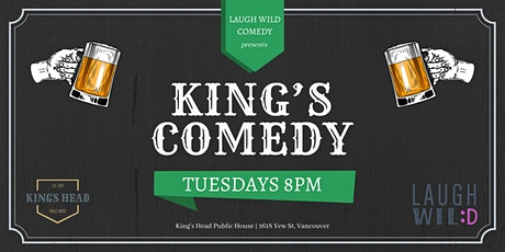 King's Comedy: It's Back! tickets