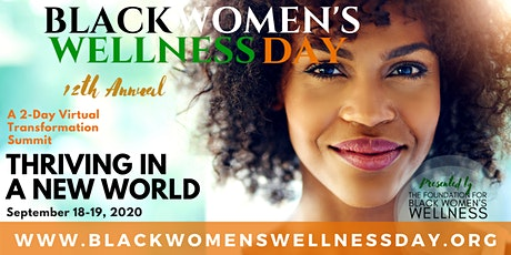 12th Annual Black Women's Wellness Day tickets