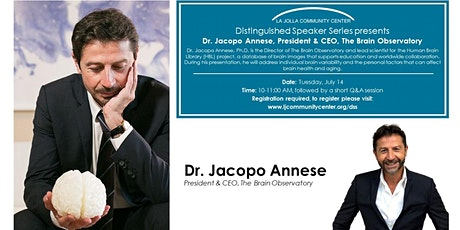 Distinguished Speaker Series - Dr. Jacopo Annese, President & CEO, The Brai tickets