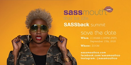 SASSback Summit tickets
