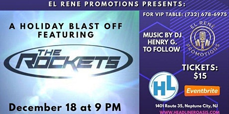 A Holiday Blast off Featuring the ROCKETS tickets