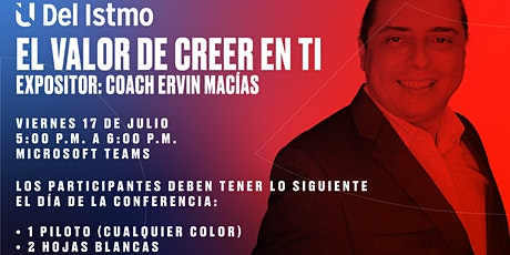 EL VALOR DE CREER EN TI boletos