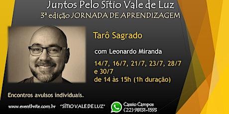 Tarô Sagrado com Leonardo Miranda tickets
