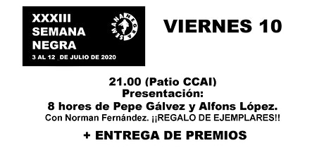 8 hores de Pepe Gálvez y Alfons López + Entrega de Premios entradas
