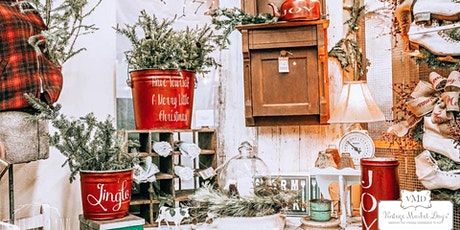 "Vintage Market Days® of Dayton-Cincinnati presents ""Home for the Holidays"" billets"
