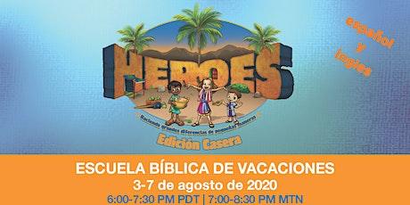 ESCUELA BÍBLICA DE VACACIONES (EBV) entradas