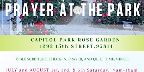 Prayer at the Park! tickets