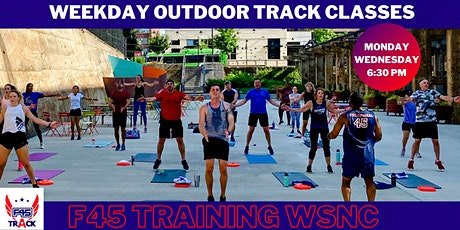 $5 Drop-In  F45 Track Class: Monday & Wednesdays 6:30 PM (Outdoors) tickets