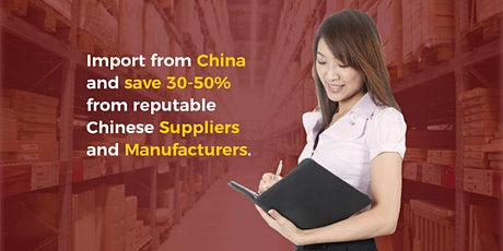 Importing from China - Webinar tickets