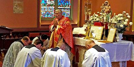 Sunday Mass in Latin (Extraordinary Form) tickets