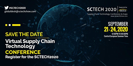 SCTECH2020 - ISCEA Supply Chain Technology Virtual Conference  - Sept 21-24 tickets