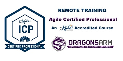 DragonsArm ICAgile Certified Professional Remote Training 4 nights