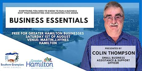 Business Essentials tickets