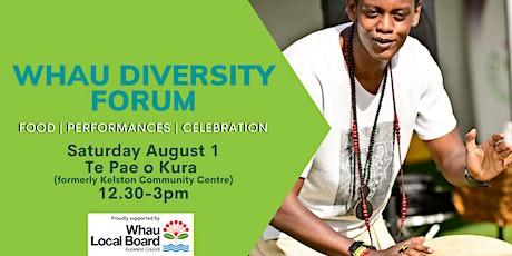 Whau Diversity Forum tickets