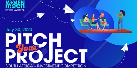 Pitch Your Project! South Africa Investment Competition tickets