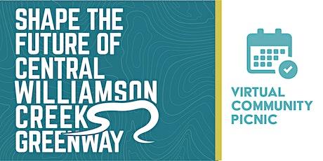 Central Williamson Creek Greenway Virtual Community Picnic - July 30 entradas
