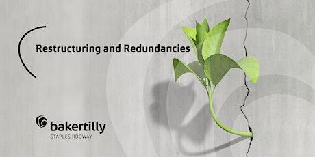 HR 201 Restructuring and Redundancies tickets