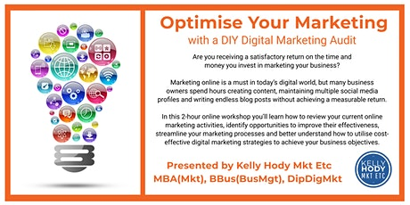 Optimise Your Marketing with a DIY Digital Marketing Audit tickets