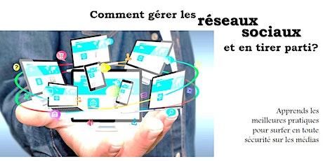 Webinaire - Une stratégie pour la bonne gestion des réseaux sociaux entradas