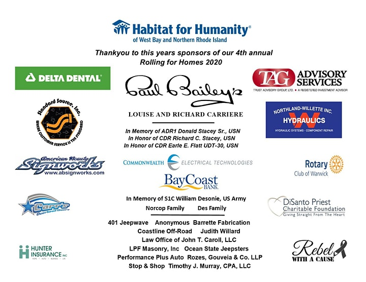 4th Annual Habitat for Humanity Rolling for Homes image