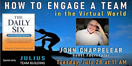 How to Engage a Team in a Virtual World tickets