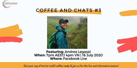 Coffee and Chats #3 with Andrea Legaspi tickets