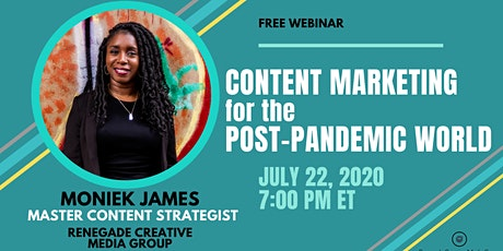 Content Marketing for the Post-Pandemic World tickets