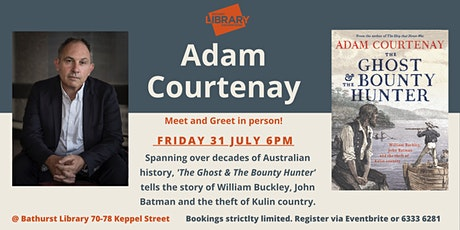 Meet and greet author Adam Courtenay tickets