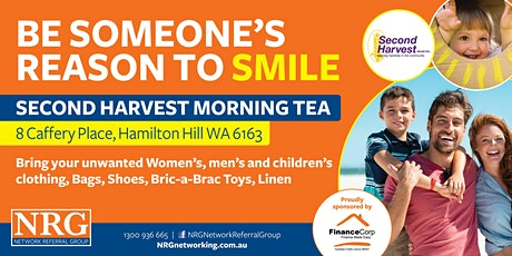 NRG Networking & Second Harvest Morning Tea tickets