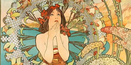 Dangerous Curves Ahead:  Art Nouveau Art and Design Online Art Lecture tickets