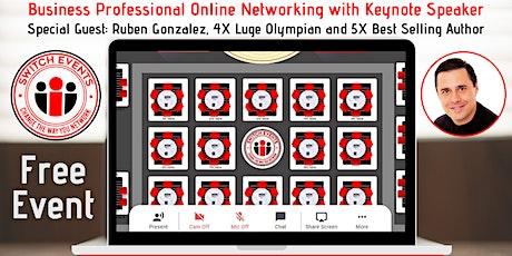 Switch Events: Online Networking + Keynote Speaker tickets