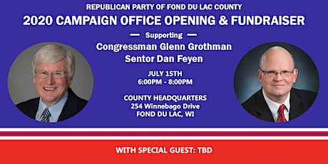 Republican Party of Fond du Lac County Campaign Office Opening tickets