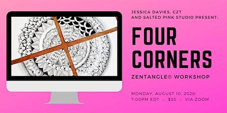 Zentangle® - Four Corners Tangling (via Zoom) biglietti
