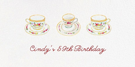 Cindy's High Tea tickets