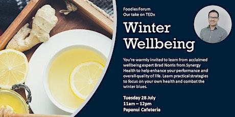 Foodies Forum - Winter Wellbeing tickets