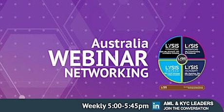 KYC & AML Networking - Australia tickets