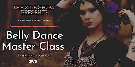 BELLY DANCE MASTER CLASS tickets