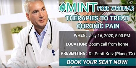 Free Webinar For Treating Chronic Pain tickets