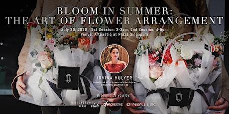 Bloom in Summer: The Art of Flower Arrangement (Session 2) tickets