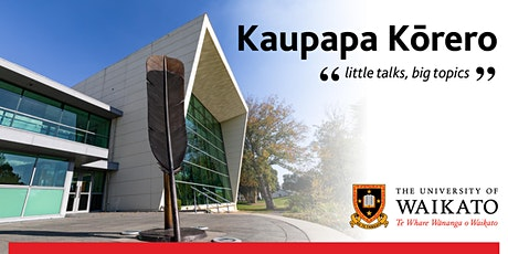 Kaupapa Kōrero - little talks, big topics tickets