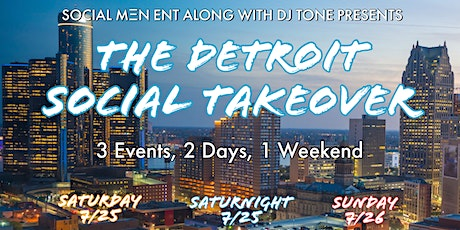 The Social Takeover In Detroit tickets