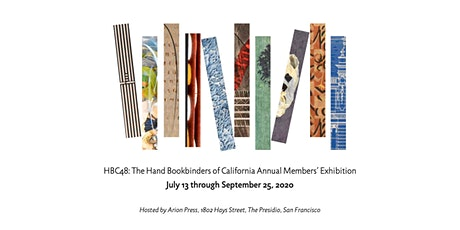 Annual Exhibition of Hand Bookbinders of California, Virtual Opening tickets