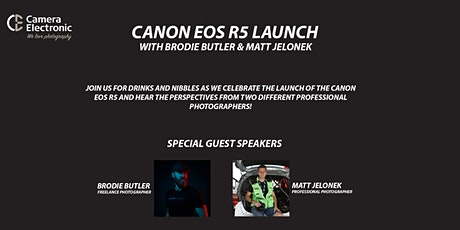 Canon EOS R5 Launch Event with Brodie Butler & Matt Jelonek tickets