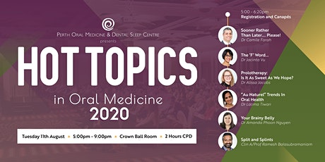 Hot Topics in Oral Medicine 2020 tickets