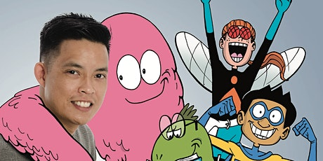 Super Sidekicks - A Cartoon Adventure with Gavin Aung Than tickets